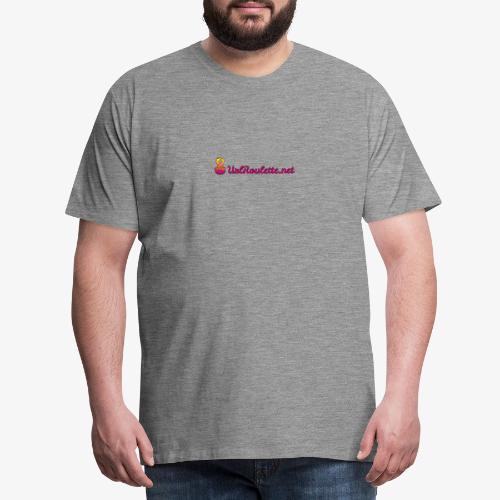 UrlRoulette Logo - Men's Premium T-Shirt