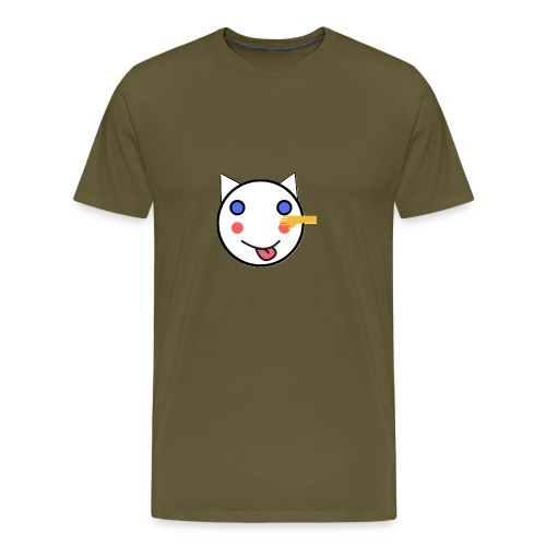 Alf Cat With Friend | Alf Da Cat - Men's Premium T-Shirt