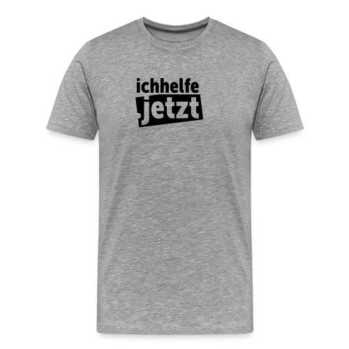 ichhelfe.jetzt - Männer Premium T-Shirt