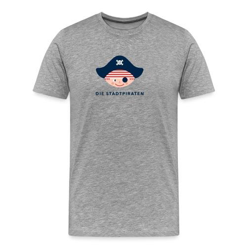 SP Logo Pirat NEU - Männer Premium T-Shirt