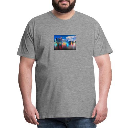 Dubai Skyline - Männer Premium T-Shirt