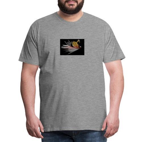 Abstarct Bird and Skeleton Hand - Men's Premium T-Shirt