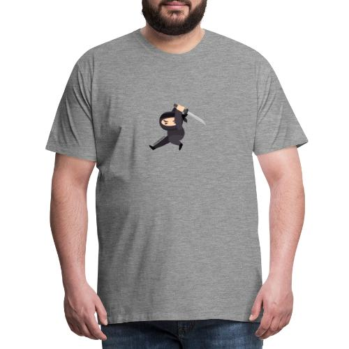 Ninjasingle sword - Männer Premium T-Shirt
