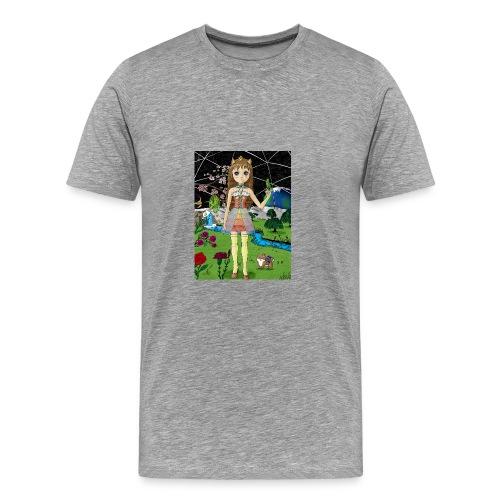 Mondgarten - Männer Premium T-Shirt