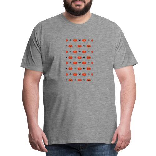halloween pattern - T-shirt Premium Homme