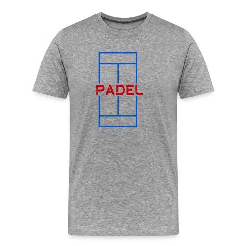 Pista padel - Camiseta premium hombre