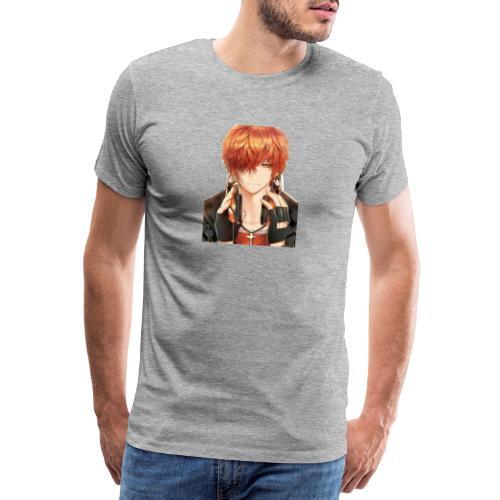 Hier Mein Face - Männer Premium T-Shirt