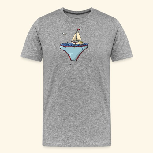 Ta mer en slip - T-shirt Premium Homme