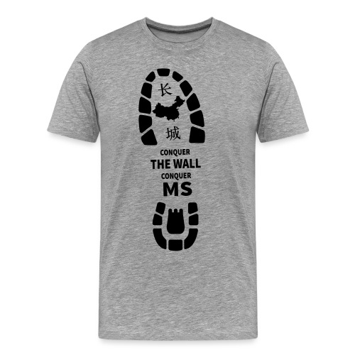 Conquer the Wall, Conquer MS - Men's Premium T-Shirt
