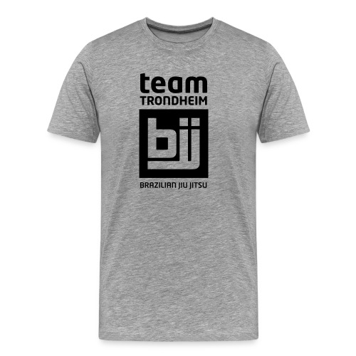 trondheim bjj logo - Premium T-skjorte for menn