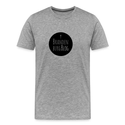 BrandenburgBlog_Logo_BLAC - Männer Premium T-Shirt