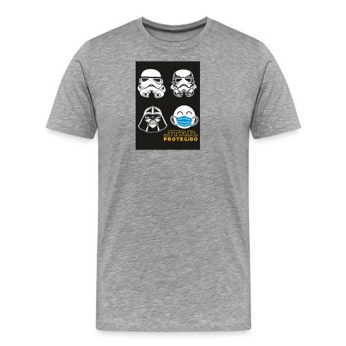 star PROTEGIDO 1 - Camiseta premium hombre