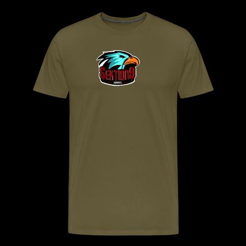 Sektion9 Logo Schwarz - Männer Premium T-Shirt