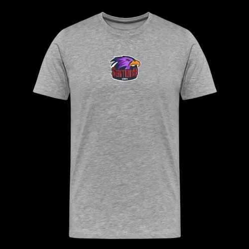 Sektion9 logo lila - Männer Premium T-Shirt