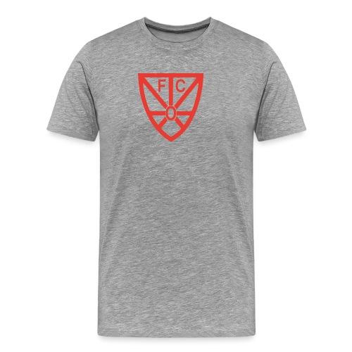 FCRWO Logo rot ohne hintergrund png - Männer Premium T-Shirt