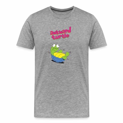 Akward Turtle (FFF) - Men's Premium T-Shirt