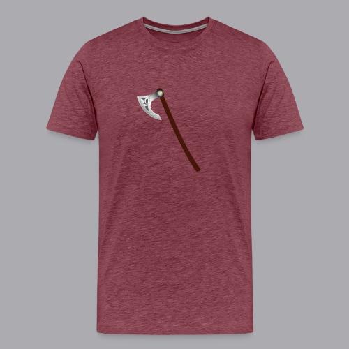 Wikinger Beil - Männer Premium T-Shirt