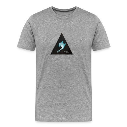 Delfin 8051 - Männer Premium T-Shirt