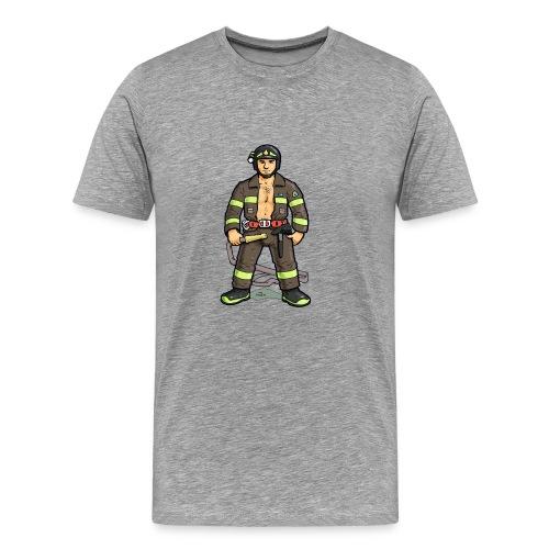 pompiere - Maglietta Premium da uomo