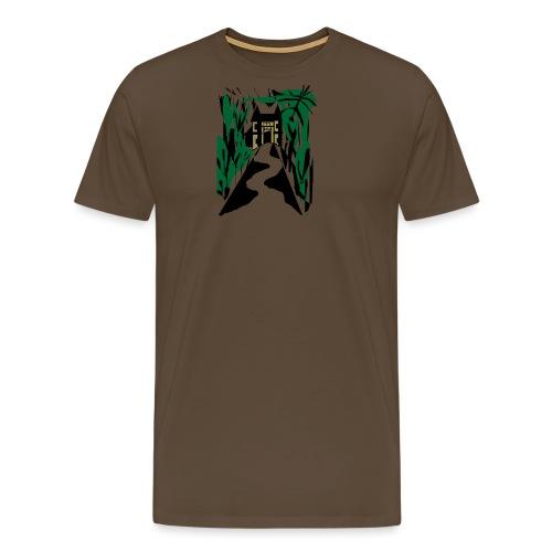HALLOWEEN SPOOKY HAUNTED MANSION 2017 - Männer Premium T-Shirt