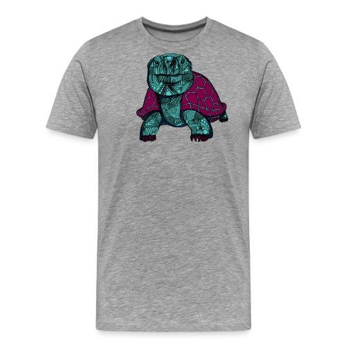 Galapagos Skilpadde - Premium T-skjorte for menn