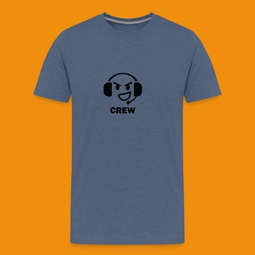 T-shirt-front - Herre premium T-shirt