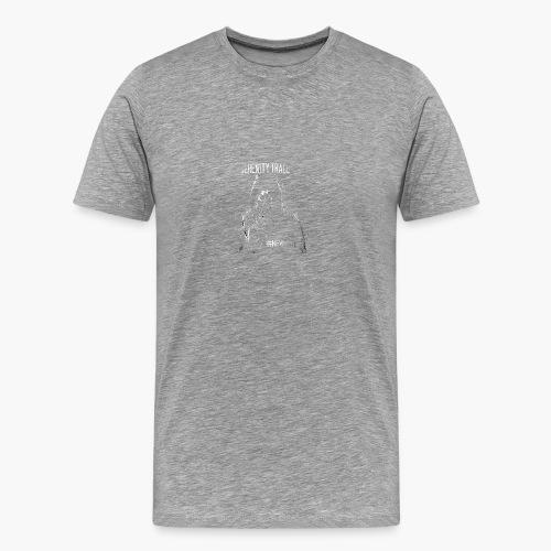 #NewHate Cover art - Premium T-skjorte for menn