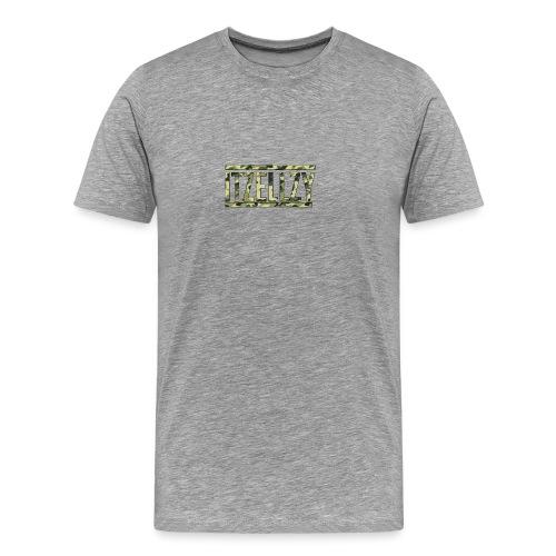 Camo Itz Ellzy logoc - Men's Premium T-Shirt