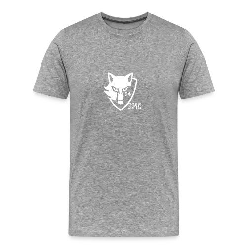 loup blanc - T-shirt Premium Homme