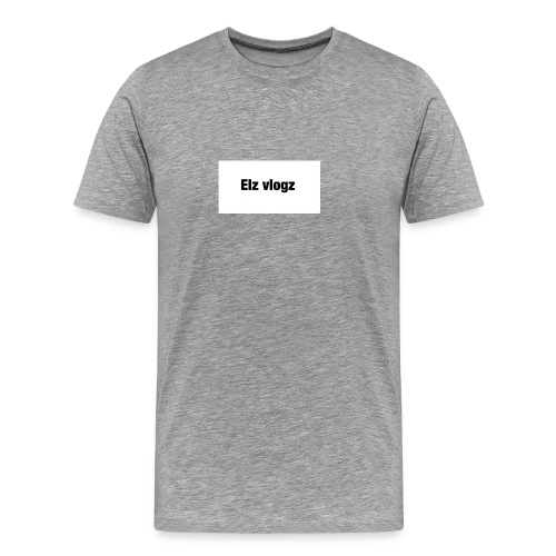 Elz vlogz merch - Men's Premium T-Shirt