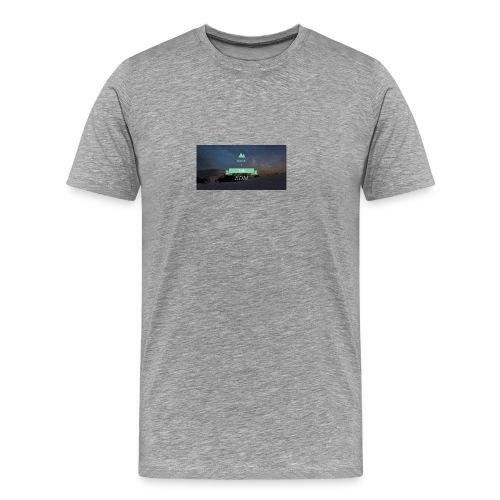 Speak Brand Logo - Men's Premium T-Shirt