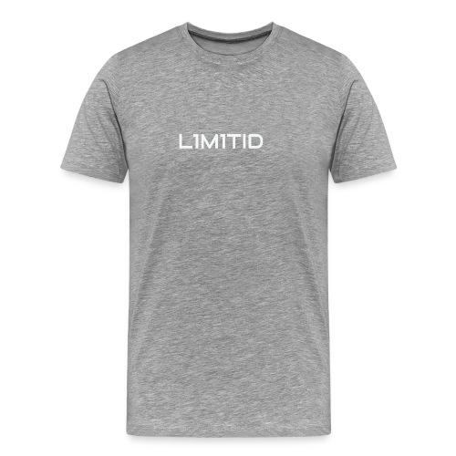 L1M1TID Official Tee - Premium T-skjorte for menn
