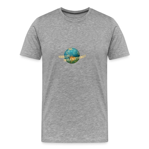 Visualize Internationally Shirt - Men's Premium T-Shirt