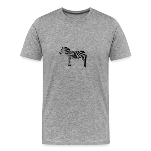 Premium Hoodie Woman | I am a freaking ZEBRA - Men's Premium T-Shirt