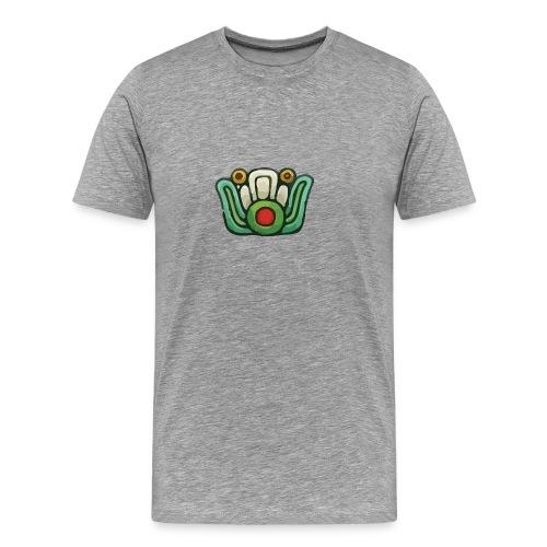 Aztec Flower Color - Men's Premium T-Shirt