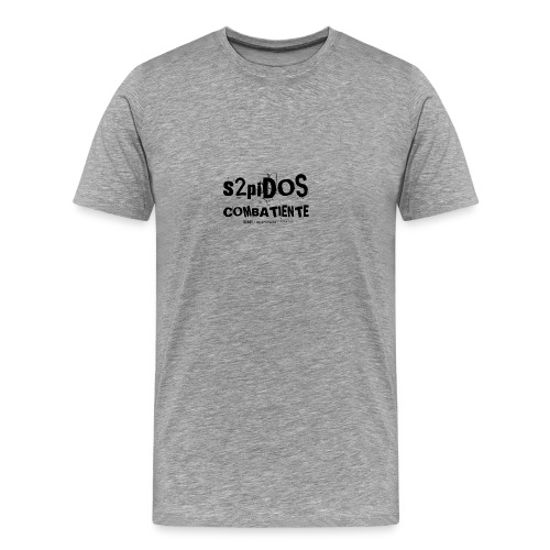 s2pidos combatiente (superviviente) - Mannen Premium T-shirt