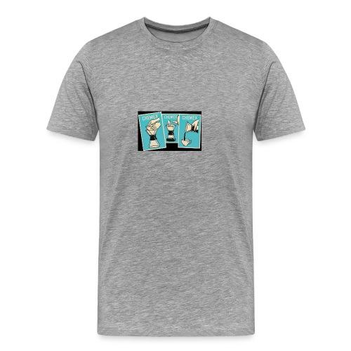 Chemex_06 - Premium T-skjorte for menn