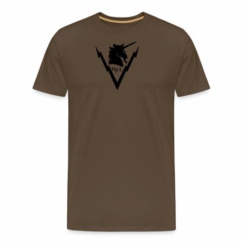 Brand RLL Black - Maglietta Premium da uomo