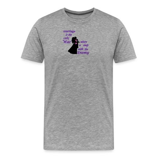 marriage_funny tshirts - Men's Premium T-Shirt