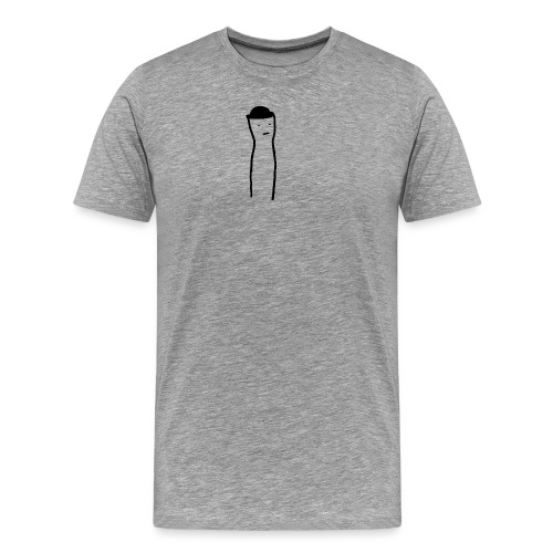 Wanderer, an open head [LIMITED] - Herre premium T-shirt