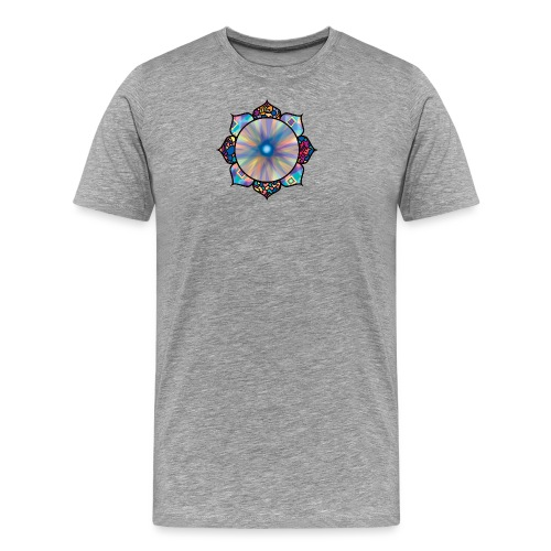 Buddha Flower - Men's Premium T-Shirt