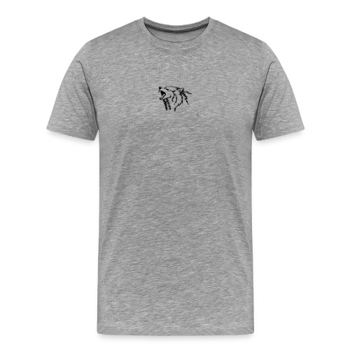 wolf - Premium-T-shirt herr