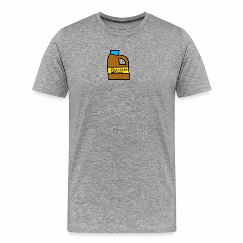 Chocolate Bleach Handrawn - Men's Premium T-Shirt