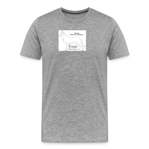 Logo 3 - Premium T-skjorte for menn