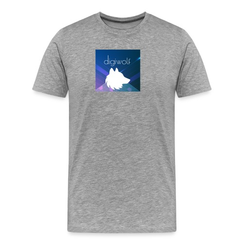 Digiwolf Logo Print - Men's Premium T-Shirt