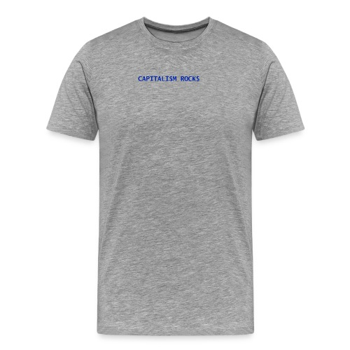 CAPITALISM ROCKS - Maglietta Premium da uomo