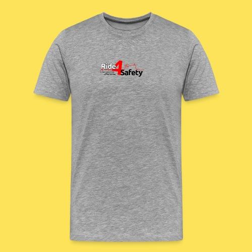 Ride4Safety - Maglietta Premium da uomo