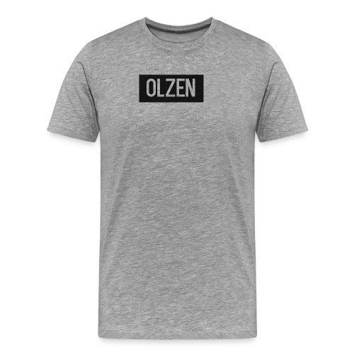 OlZen - Premium T-skjorte for menn