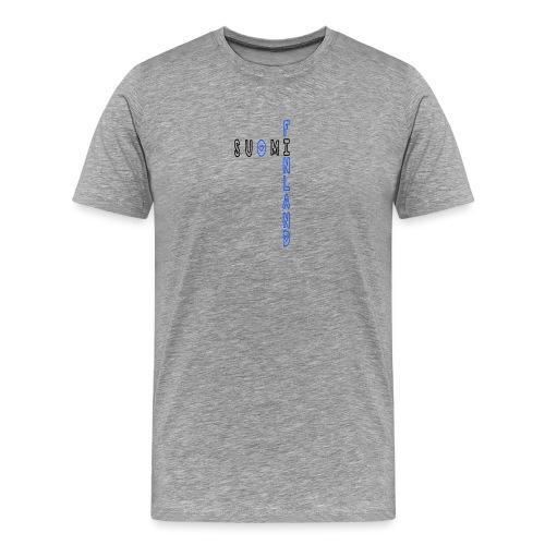 Suomi - Miesten premium t-paita