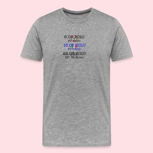 Inters trippel - Premium-T-shirt herr